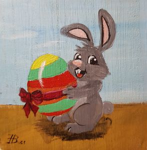 Easter Bunny 07 - Heijdi's fantastic painted World