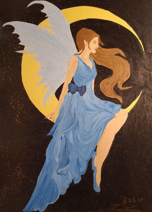 The moon Elf - Heijdi's fantastic painted World