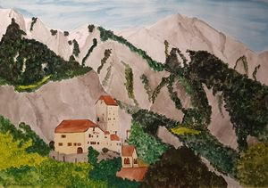Schloss Sargans - Heijdi's fantastic painted World