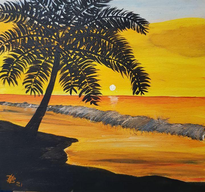 Little sunset - Heijdi's fantastic painted World