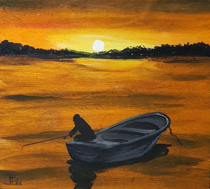 The fisherman - Heijdi's fantastic painted World