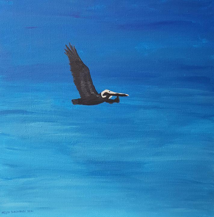Flying / Freedom - Heijdi's fantastic painted World