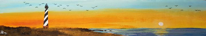 Cape Hatteras Light - Heijdi's fantastic painted World