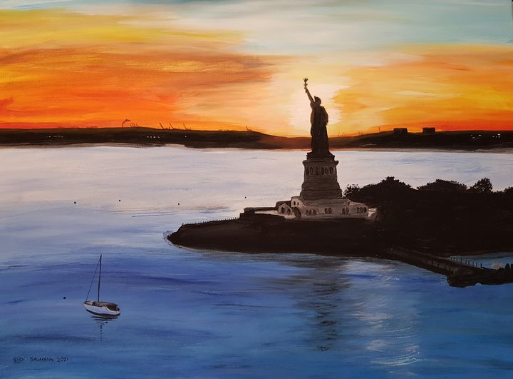 Lady Liberty 03 - Heijdi's fantastic painted World
