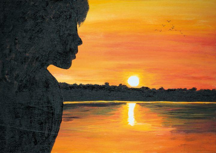 Lady Sunset / 02 - Heijdi's fantastic painted World