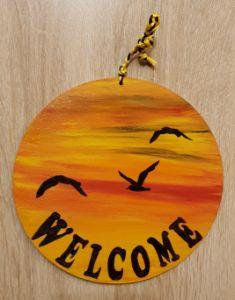 Welcome Sunset 01/ Door Hanger