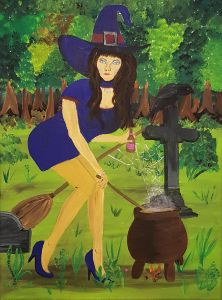 Witch`s Brew - Heijdi's fantastic painted World