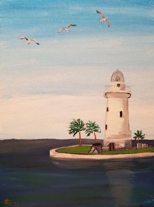 Boca Chita Key Lighthouse - Heijdi's fantastic painted World