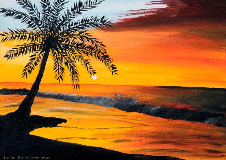 Sunset - Heijdi's fantastic painted World