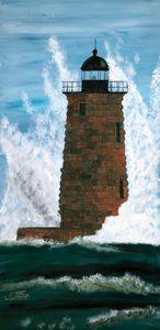 Whaleback Light Station / 01 - Heijdi's fantastic painted World