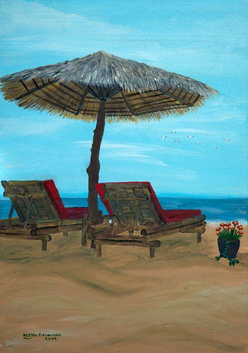 Beach Idyll - Heijdi's fantastic painted World