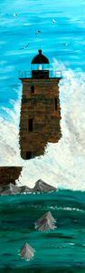 Whaleback Light Station / 02 - Heijdi's fantastic painted World