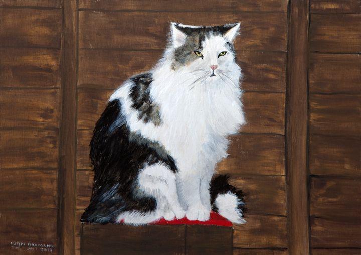 Keanu - Heijdi's fantastic painted World