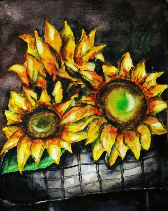 Sunflowers - Pitiki_time