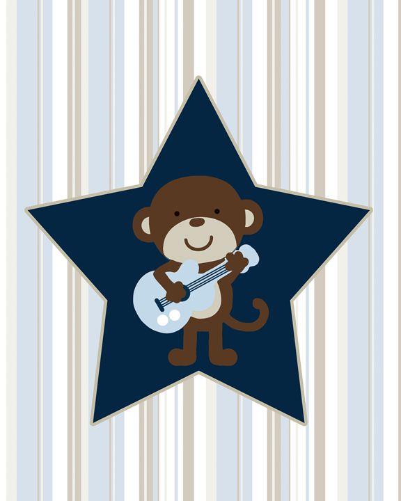 Monkey Rockstar - Oksana Smith