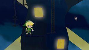 Link in The Forsaken Fortress