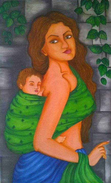 Mother and Baby - Diana