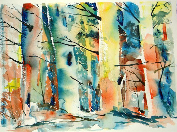 Sunburst Trees - George Grafton