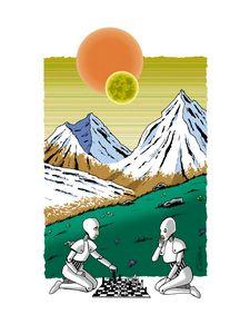 Joueurs d'échecs.
