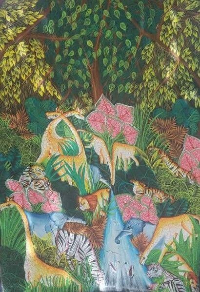 The jungle - Falaise Peralte