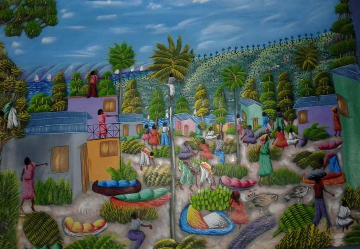 The village - Falaise Peralte