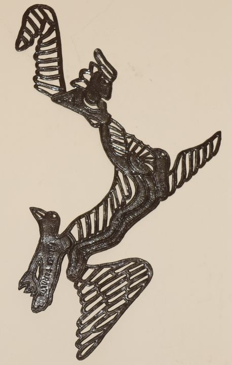 Angel transformation into birds - Falaise Peralte