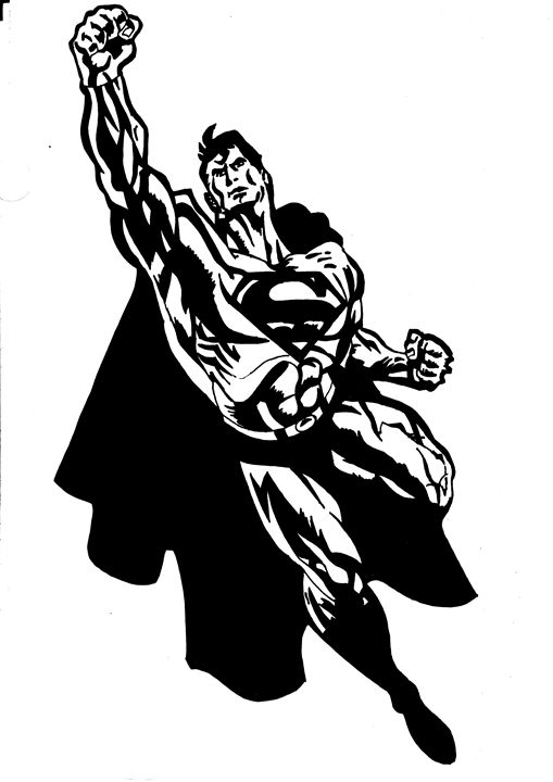 Black Superman - Gupta