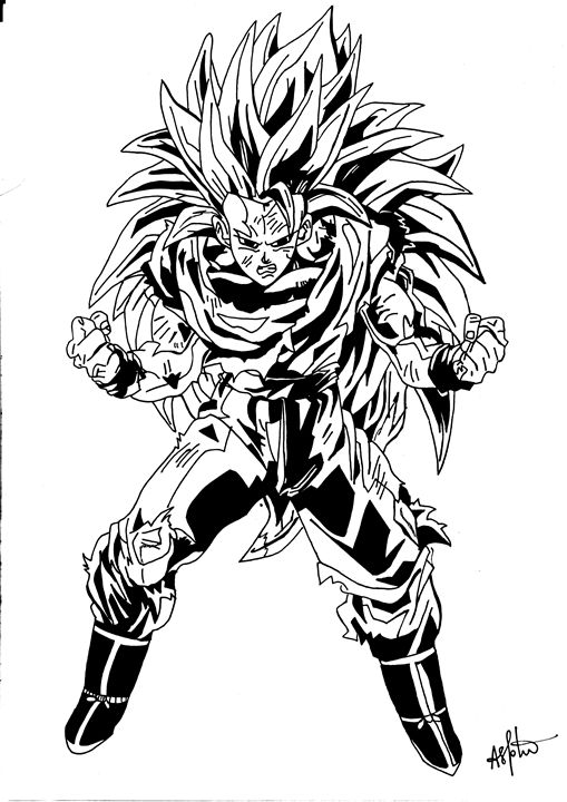 Goku SSJ3 - Gupta