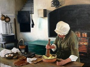 Colonial America Cooking