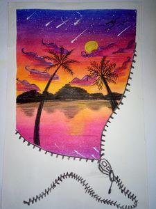 Fantasy sunset.