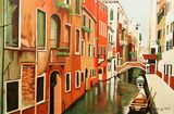 Venice In Color (Acrylic on Canvas)