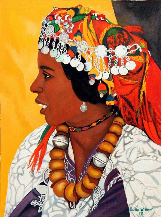 African Beauty - PC's Diaspora Art