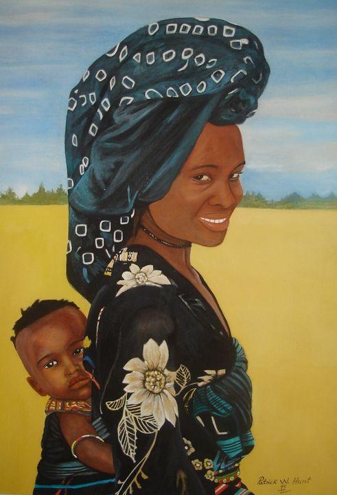 African Mother & Child - PC's Diaspora Art