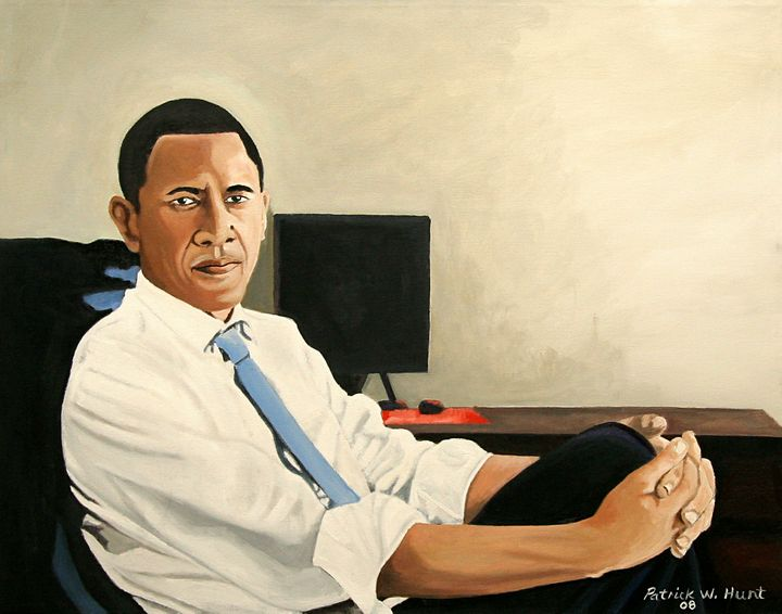 Looking Presidential - PC's Diaspora Art