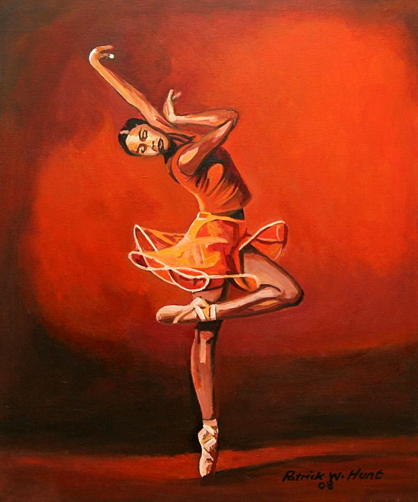 Ballet Lady - PC's Diaspora Art