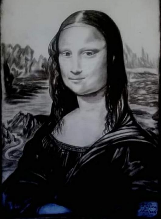 The Mona Lisa - GLR LEGACY ART