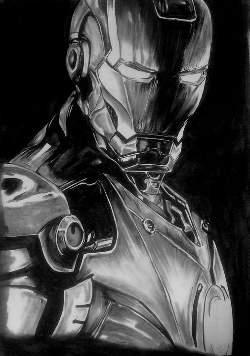 Tony Stark - GLR LEGACY ART