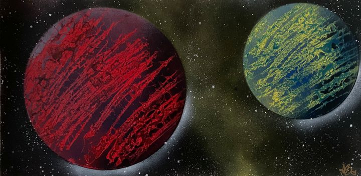 2 planets 17 - Artist Anni