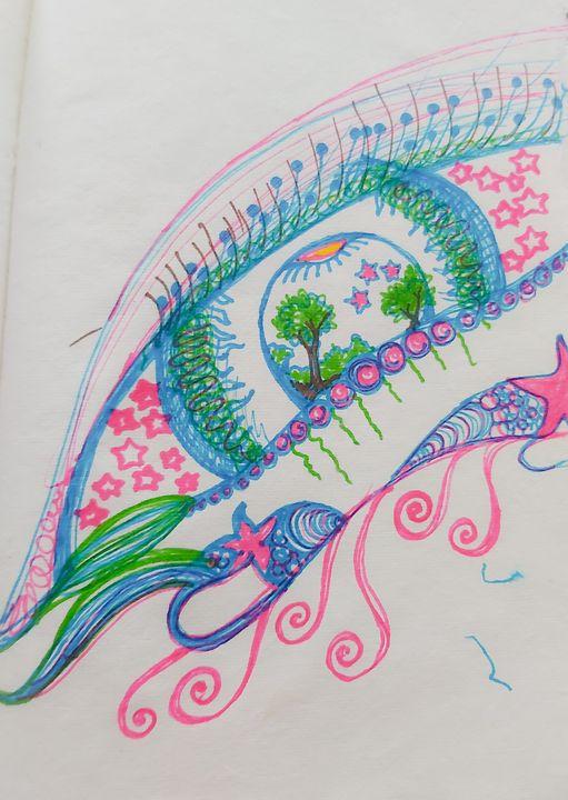 Eye See Paradise - Kriya Fantasy
