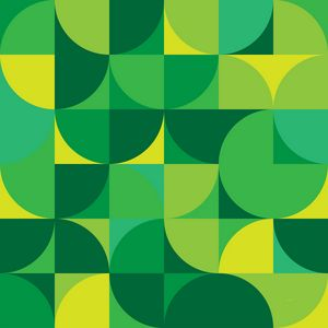 Pieces of Pac Man - Green
