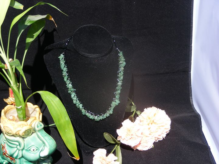 Goddess Cupra, Aventurine Necklace - Herb Fancy