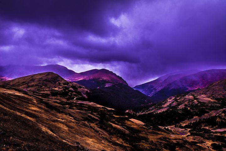 Purple Evening - James L Bartlett Photography