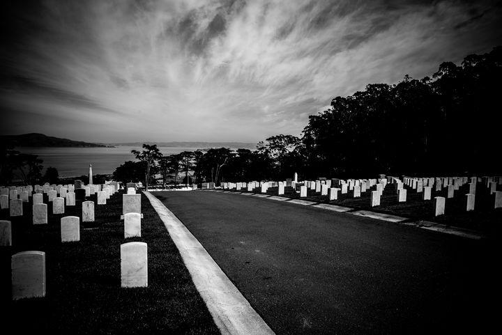 National Cemetery San Francisco - James L Bartlett Photography