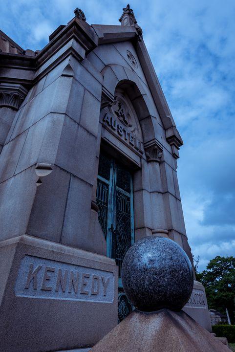 Mausoleum Kennedy Austell - James L Bartlett Photography