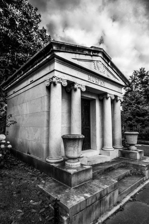 Murphy Mausoleum Oakland Cemetery - James L Bartlett Photography