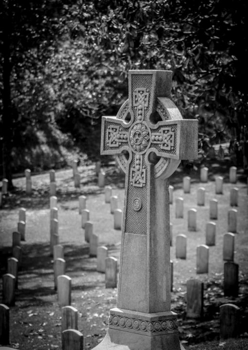 Celtic Cross - James L Bartlett Photography