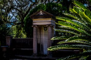 Wilcox Grave at Bonaventure