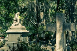 Mourner and Cross at Bonaventure