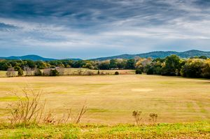Autumn Field at Etowah Indian Mounds