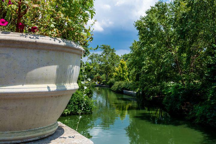 Tranquil Garden - James L Bartlett Photography